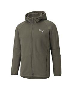 PUMA - evostripe fz hoodie - Groen