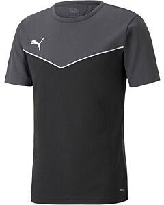 PUMA - individualrise jersey jr - Black/Black/White