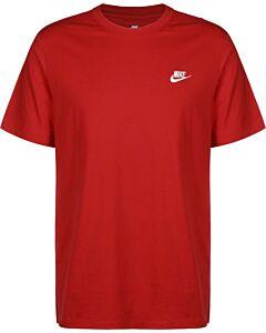 NIKE - nike sportswear club men's t-shirt - Rood