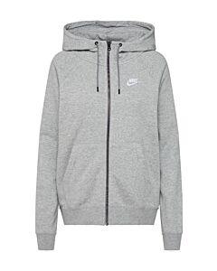 NIKE - nike sportswear essential women's f - Grijs-Wit