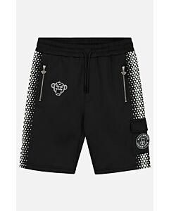 BLACK BANANAS - hexagon short - Zwart-Wit