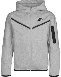 NIKE - nike sportswear tech fleece big kid - Grijsdonker