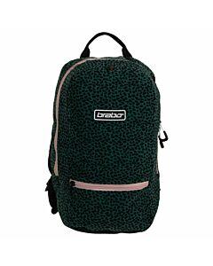 BRABO - bb5300 backpack fun leopard aqua - Transparant