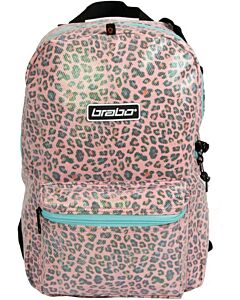 BRABO - bb5250 backpack animal leopard pink - Transparant