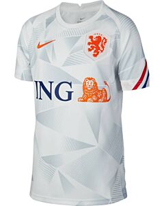 NIKE - knvb y nk dry top ss pm - Wit