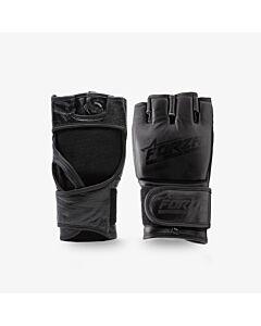 FORZA - Genuine leather MMA Gloves - zwart combi