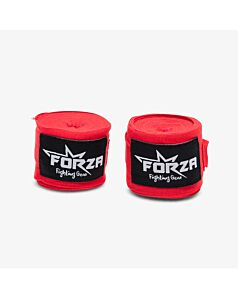 FORZA - Velcro wrap 450 cm Red - rood