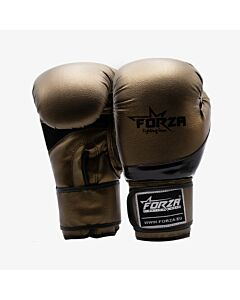 FORZA - Synthetic boxing gloves antique gold - goud