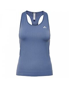ONLY PLAY - onpchristina seamless sl top - opus - Blauw-Multicolour
