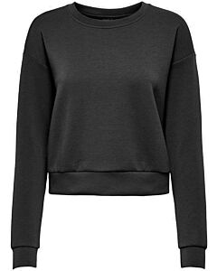 ONLY PLAY - onplounge ls o-neck sweat noos - Zwart-Multicolour