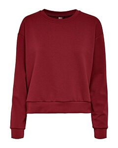 ONLY PLAY - onplounge ls o-neck sweat noos - Rood-Multicolour