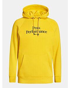 PEAK PERFORMANCE - M Original Hood-Trek - geel combi