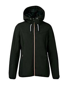 BRUNOTTI - apex women softshelljacket - Zwart
