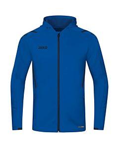 JAKO - Jas met kap Challenge - blauw combi