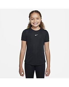 NIKE - nike dri-fit one big kids' (girls') - Zwart-Wit