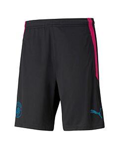 PUMA - mcfc training shorts w/p - Zwart