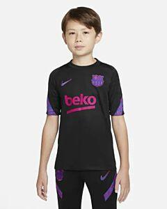 NIKE - fc barcelona strike big kids' short - Zwart