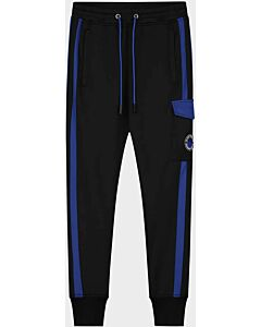 BLACK BANANAS - jr analog trackpants - Zwart-Blauw