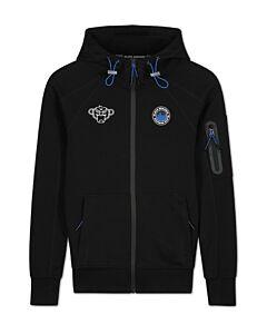 BLACK BANANAS - jr trooper zip hoody - Zwart-Blauw
