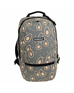BRABO - bb5320 backpack fun avacado grey/pe - Transparant
