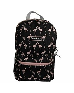BRABO - bb5220 backpack storm flamingo blac - Transparant