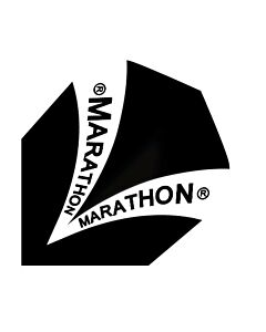 HARROWS - MARATHON FLIGHT 1500 ZWART - zwart