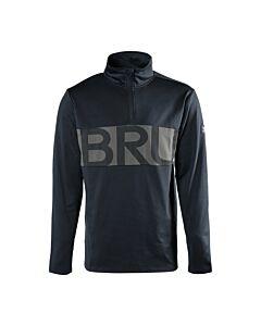 BRUNOTTI - frank mens fleece - Zwart