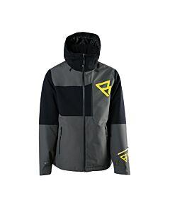 BRUNOTTI - flynn-s mens snowjacket - Black/Black/White