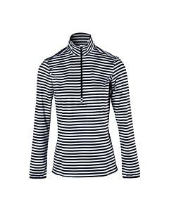 BRUNOTTI - rodia-stripe women fleece - Zwart