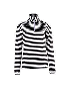 BRUNOTTI - rodia-stripe-jr girls fleece - Zwart