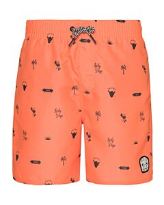 PROTEST - jorn jr beachshort - Wit-Multicolour
