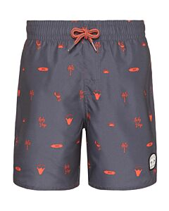 PROTEST - jorn jr beachshort - Grijs-Multicolour