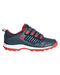 BRABO - bf1010f brabo shoe velcro navy/red - Black/Black/White