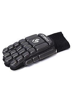 BRABO - bp1066 foam glove f3 full finger r. - Black/Black/White
