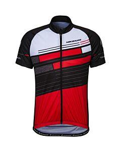 NAKAMURA - erie shirt men - Zwart-Rood