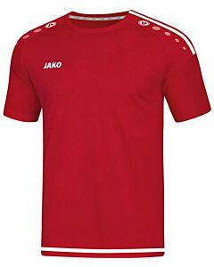 JAKO - t-shirt/shirt striker 2.0  km - Rood-Wit