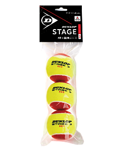 Dunlop stage 3 red 3 polybag