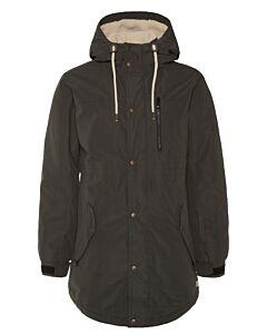 PROTEST - Saffroon snowjacket - bruin combi