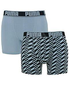 PUMA ACCESSOIRES - active boxer bolt print - Blauwlicht-Multicolour
