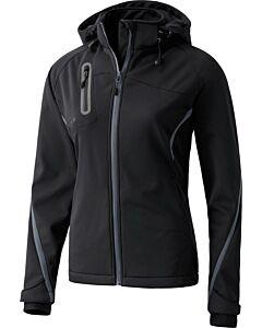 ERIMA - softshell jacket function - Zwart-Multicolour