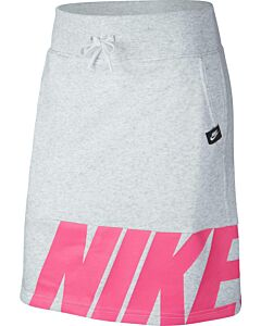 NIKE - g nsw skirt flc air - Black/Black/White