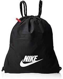 NIKE - nike heritage 2.0 gym sack - Zwart