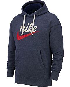 NIKE - m nsw heritage hoodie po gx - Blauw-Multicolour