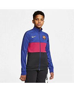 NIKE - fc barcelona big kids' soccer jacke - Blauw