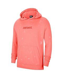 NIKE - nike sportswear jdi men's pullover - Oranje