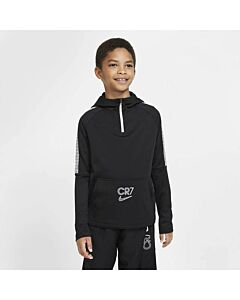 NIKE - nike dri-fit cr7 big kids' 1/4-zip - Zwart