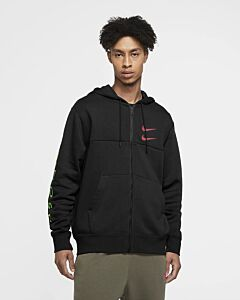 NIKE - nike sportswear swoosh men's full z - Zwart