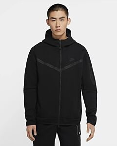 NIKE - nike sportswear tech fleece men's f - Zwart