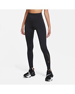 NIKE - nike one icon clash women's tights - Zwart