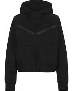 NIKE - nike sportswear tech fleece windrun - Zwart